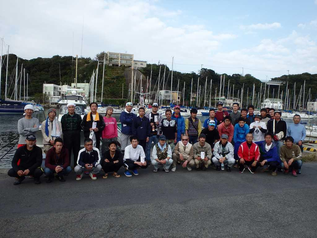 写真:横浜清掃局カワハギ釣大会