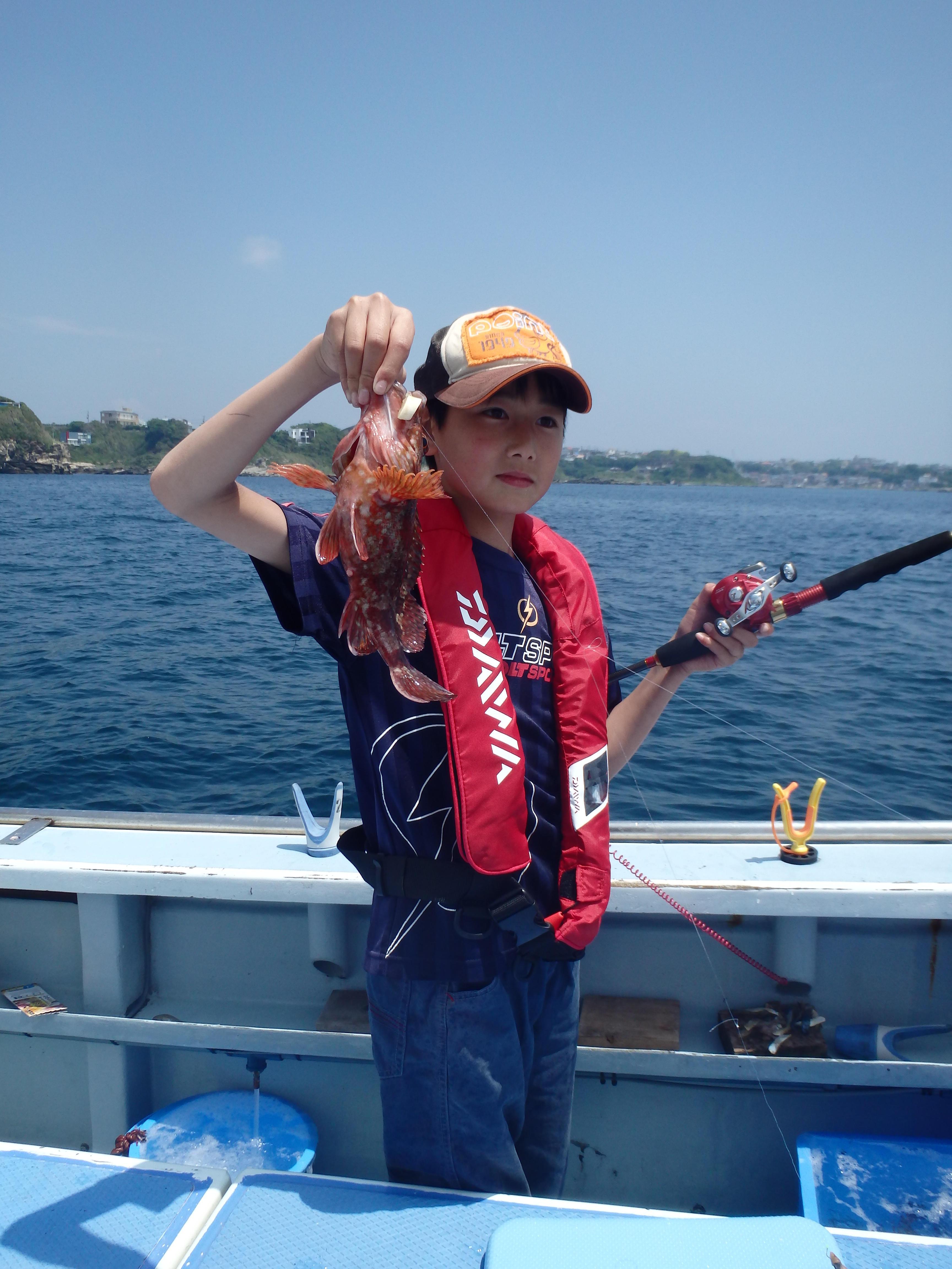 写真:親子で釣り教室