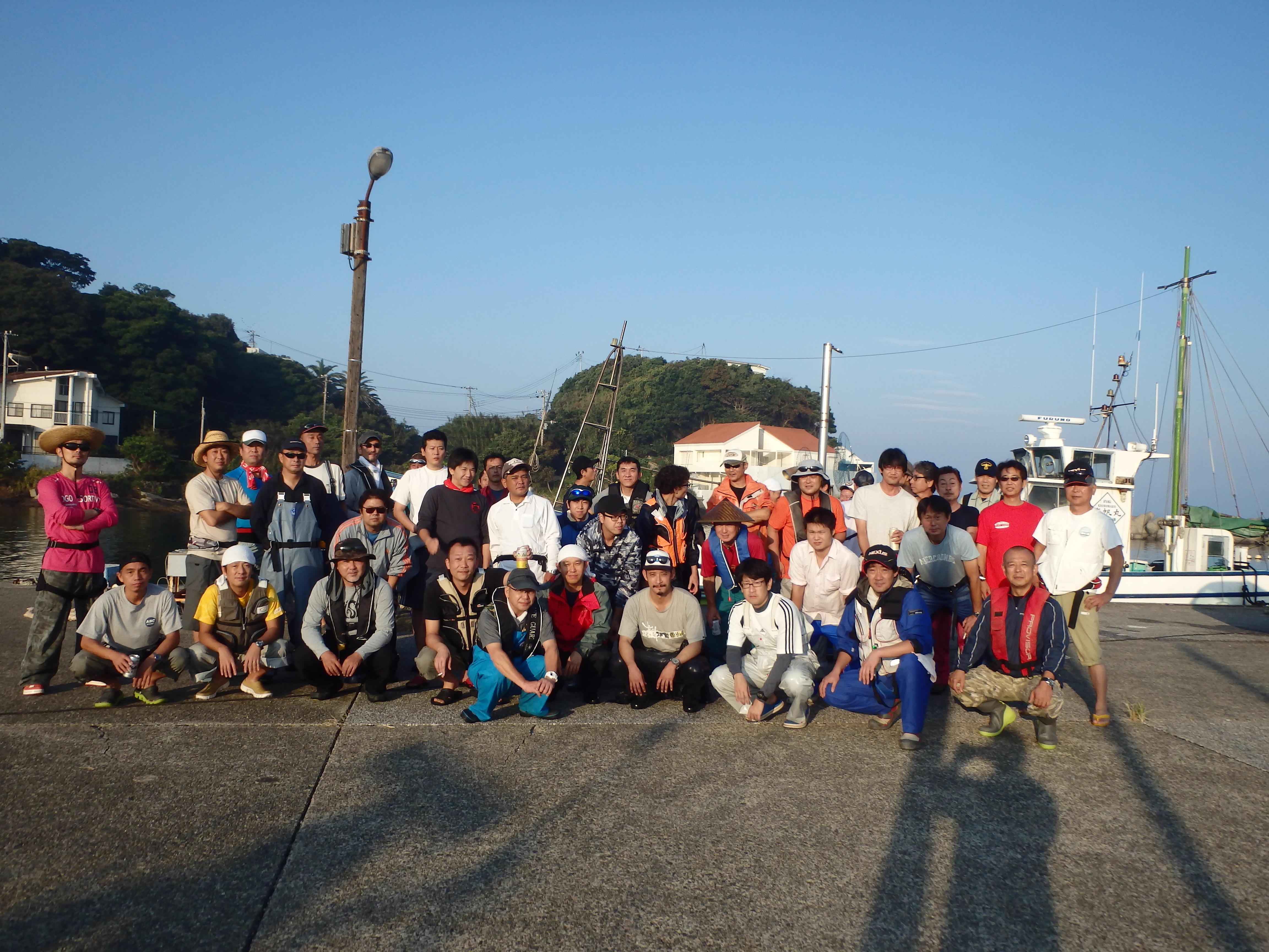 写真:第7回横浜清掃カワハギ釣り大会